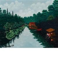 vue du petit canal by camille bombois