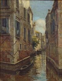canale a venezia by zaccaria dal bo