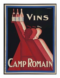 untitled (vins camp romain) by claude gadoud