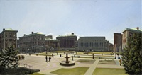 columbia university by rackstraw downes