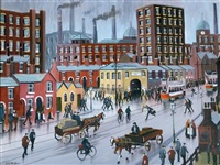 salford cotton mill by bernard mcmullen