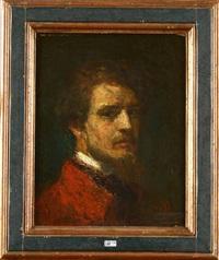 autoportrait by alfred théodore joseph bastien