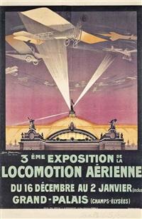 3éme exposition de la locomotion aérienne by georges dorival