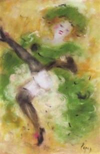 a can-can dancer by doris (michalis papageorgiou)