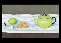 yellow pot by rinjiro hasegawa