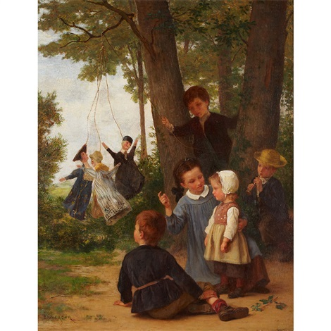 the puppet show playmates by théophile emmanuel duverger