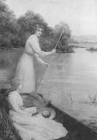 punting on the river by william f. ashburner