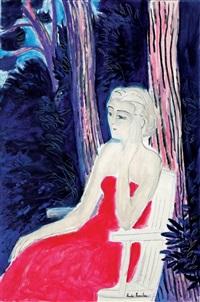 meditation sous les pins by andré brasilier