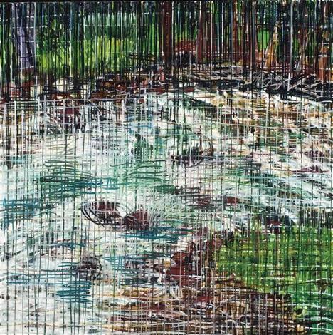 aspen 6 weeks painting 5 by jennifer bartlett