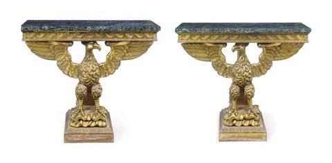 console tables pair by william kent