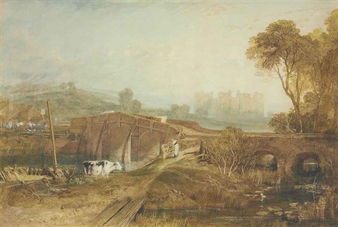 bodiam castle sussex by joseph mallord william turner