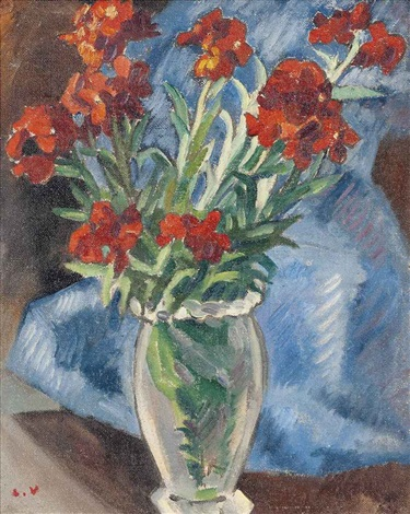 fleurs giroflées by louis valtat