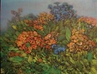 paysage fleuri by juvenal sanso