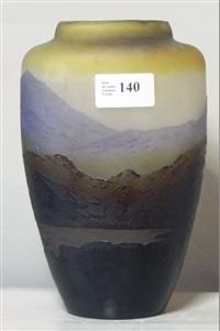 vase balustre by émile gallé