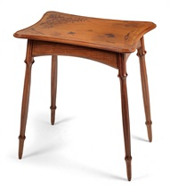tisch mit lade by louis majorelle