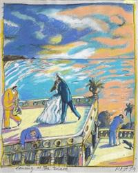 dancing at the terrasse by daniel maja