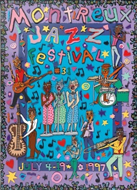 montreux jazz festival by james rizzi