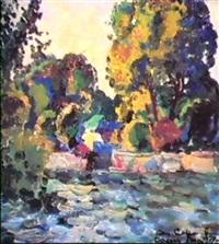 sur le fleuve by alexei sokolov
