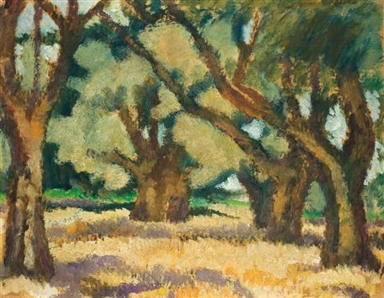 galilean landscape by arieh allweil