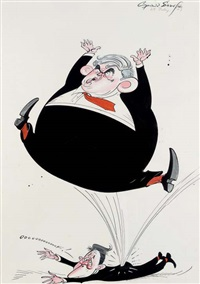 the brown bounce by gerald scarfe