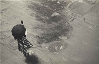 untitled (woman with umbrella), (from as from my window i sometimes glance...) by w. eugene smith