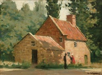 captain cook's cottage by alexander colquhoun