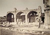 basilica di costantino (+ interno della cattedrale di san giovanni in laterano; 2 works) by giuseppe ninci