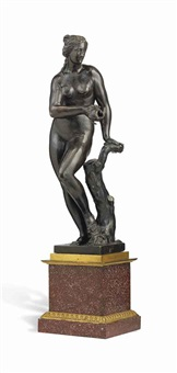 figure of venus or amphitrite by francesco fanelli