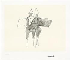 winged couple by lynn chadwick