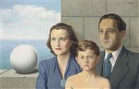 portrait de famille by rené magritte