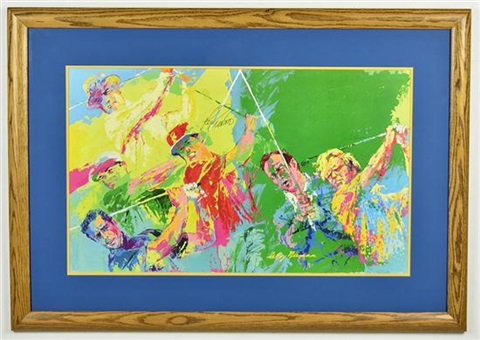 legends of golf by leroy neiman