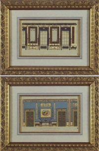 design for an interior wall by michelangelo pergolesi