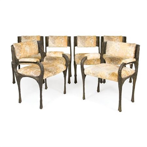 Dining Chairs (set Of 6) By Paul Evans