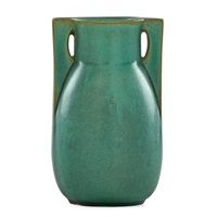 small buttressed vase by teco