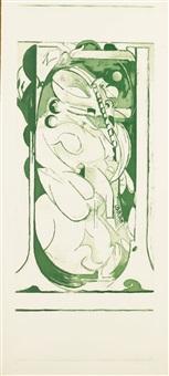 pupae i; pupae ii; pupae iii (t. 195-197) (3 works) by graham sutherland