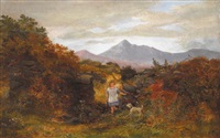 the sugarloaf mountain, glengariff (county cork) by william mcevoy