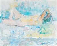 resting figure by erik granfelt
