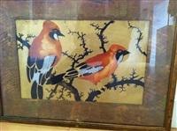 les deux oiseaux by georges manzana-pissarro