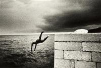 voilà les touches se sont envoliées (the diver) by bruno requillart
