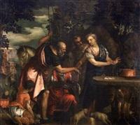 eliezer et rebecca by benedetto caliari