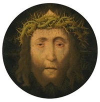 head of christ by aelbrecht bouts