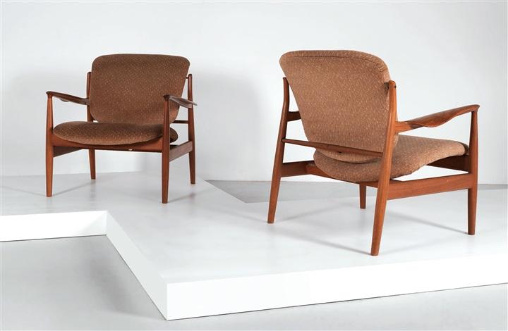 Two Armchairs By Finn Juhl