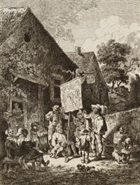 bänkelsänger by friedrich (maler müller) müller