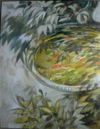 small fish pond by jack moncur