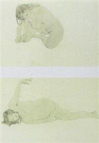 weiblicher akt by hans böhler