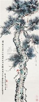 苍松 by xue huishan