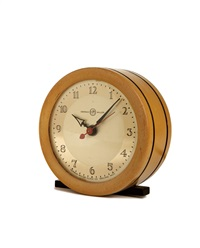 table clock (model 6345) by gilbert rohde