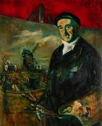 le peintre quizet à sa palette by blanche jeannin