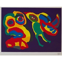 she is back again by karel appel