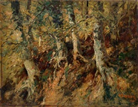 forest by alfred théodore joseph bastien
